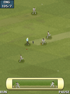 Mobile game EA Cricket 2011 - screenshots. Gameplay EA Cricket 2011.