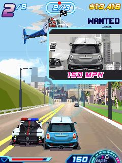 Download free game for mobile phone: Asphalt 6 Adrenaline - download mobile games for free.