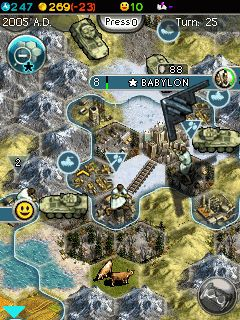 Download free game for mobile phone: Sid Meiers Civilization 5 The Mobile Game - download mobile games for free.