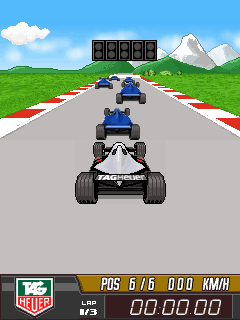 Download free mobile game: Tag Heuer F1 - download free games for mobile phone.
