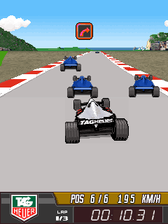 Download free game for mobile phone: Tag Heuer F1 - download mobile games for free.