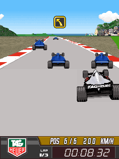 Mobile game Tag Heuer F1 - screenshots. Gameplay Tag Heuer F1.