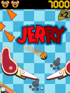 Download free game for mobile phone: Tom and Jerry Pinball Pursuit - download mobile games for free.