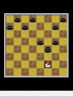 Jeu mobile Le Pays des Echecs - captures d'écran. Gameplay Checkersland.