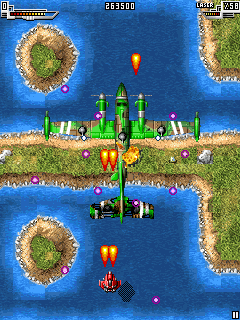 Mobile game Sky force - screenshots. Gameplay Sky force.