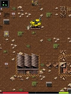 Скриншот java игры Bulldozer Inc. Игровой процесс.
