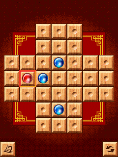 Mobile game Marble Solitaire - screenshots. Gameplay Marble Solitaire.
