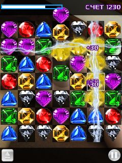 Download free mobile game: Ero diamonds - download free games for mobile phone.