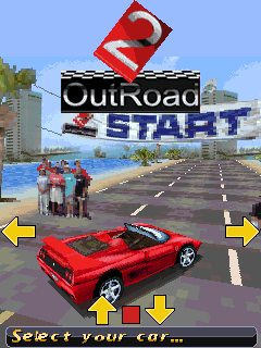 Download free game for mobile phone: OutRoad 2 - download mobile games for free.