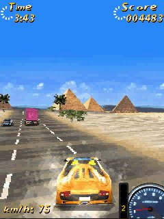 Mobile game OutRoad 2 - screenshots. Gameplay OutRoad 2.