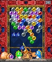 Download free mobile game: Puzzle Bobble Mobile Mania - download free games for mobile phone.