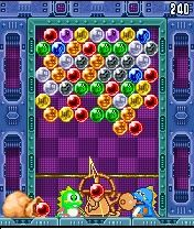 Mobile game Puzzle Bobble Mobile Mania - screenshots. Gameplay Puzzle Bobble Mobile Mania.
