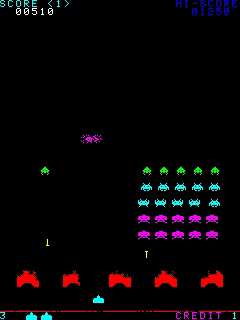 Download free mobile game: Space Invaders Anniversary - download free games for mobile phone.