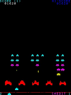 Download free game for mobile phone: Space Invaders Anniversary - download mobile games for free.