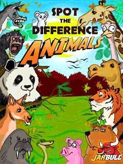 Spot The Difference Animals