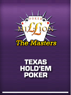 Poker Million 2 The Masters Texas Holdem