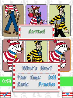 Скриншот java игры Where is Wally?. Игровой процесс.
