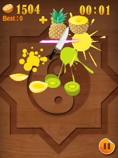 Download free mobile game: Fruit Mania - download free games for mobile phone.