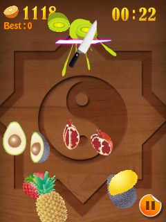 Download free game for mobile phone: Fruit Mania - download mobile games for free.