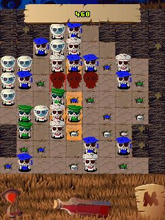 Mobile game Zombie Quest - screenshots. Gameplay Zombie Quest.
