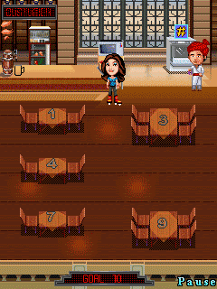 Jeu mobile Curry se Précipite - captures d'écran. Gameplay Curry in a hurry.
