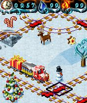 Download free mobile game: My Model Train 2 Winter Edition - download free games for mobile phone.