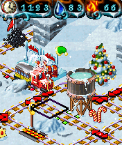 Скриншот java игры My Model Train 2 Winter Edition. Игровой процесс.