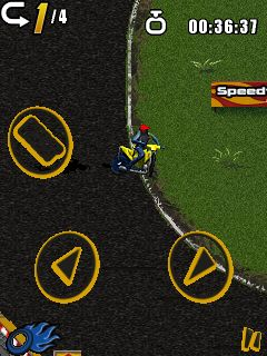 Download free game for mobile phone: All Stars Speedway - download mobile games for free.