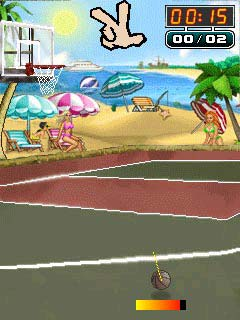 Download free game for mobile phone: Strip Basketball - download mobile games for free.
