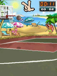 Jeu mobile Le Strip Basketball - captures d'écran. Gameplay Strip Basketball.
