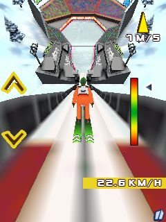 Download free game for mobile phone: Ski Jumping 2012 3D - download mobile games for free.