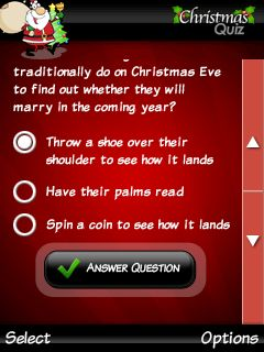 Download free game for mobile phone: Ultimate christmas quiz - download mobile games for free.