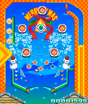 Download free game for mobile phone: Xmas pinball fever - download mobile games for free.