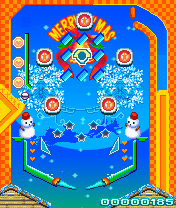 Mobile game Xmas pinball fever - screenshots. Gameplay Xmas pinball fever.