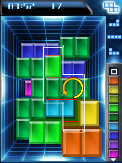 Download free mobile game: Tetris Blockout - download free games for mobile phone.