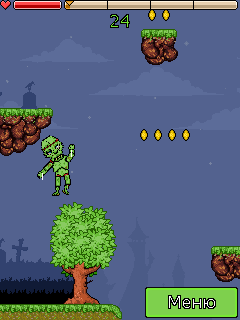 Mobile game Adventures of Zombieman - screenshots. Gameplay Adventures of Zombieman.