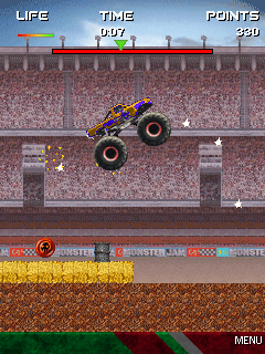 Jeu mobile Le Bigfoot Monstre - captures d'écran. Gameplay Monster Truck (Inode).