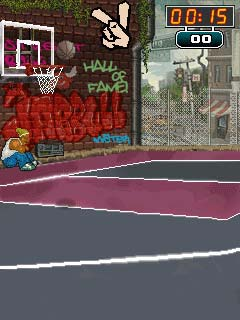 Mobile game Street Balls - screenshots. Gameplay Street Balls.