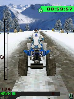 Mobile game 3D Extreme Quad Bikes - screenshots. Gameplay 3D Extreme Quad Bikes.