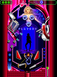 Download free mobile game: Playboy Pinball - download free games for mobile phone.