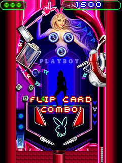 Download free game for mobile phone: Playboy Pinball - download mobile games for free.