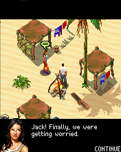 Jeu mobile LOST Portable - captures d'écran. Gameplay LOST The Mobile Game.