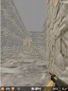 Mobile game Micro Counter Strike 1.6 MOD - screenshots. Gameplay Micro Counter Strike 1.6 MOD.