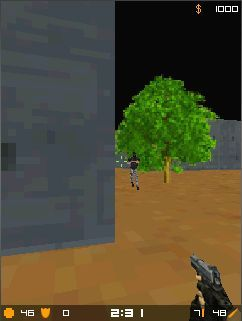 Download free game for mobile phone: Micro Counter Strike 1.6 MOD - download mobile games for free.