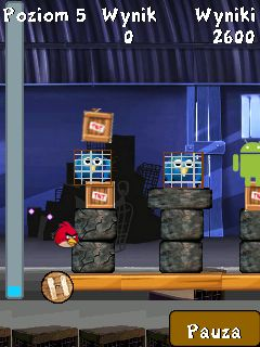 Mobile game Angry Birds Rio - screenshots. Gameplay Angry Birds Rio.