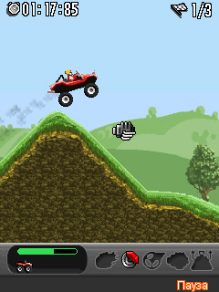 Download free game for mobile phone: Insane truck 3D - download mobile games for free.