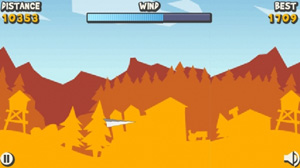 Download free game for mobile phone: Paper Glider - download mobile games for free.