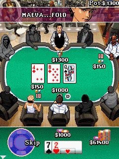 Mobile game Million Dollar Poker - screenshots. Gameplay Million Dollar Poker.