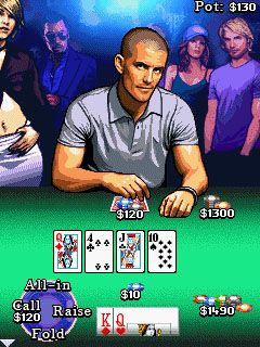 Download free game for mobile phone: Million Dollar Poker - download mobile games for free.