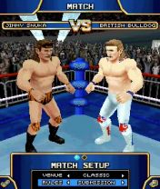 Скриншот java игры Legends of wrestling. Игровой процесс.